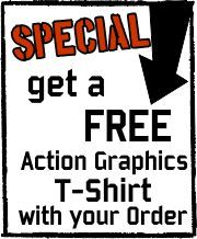 Order today to get your promotional products, embroidery, or screen printing done with the custom graphics designs you have in mind today!